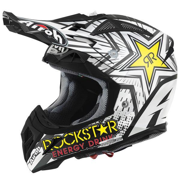Helmet Airoh Aviator 22 Rockstar At The Best Price Icasquecouk