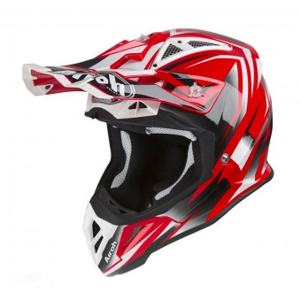 Casque Motocross Airoh Aviator 2.3 AMS Fame Red