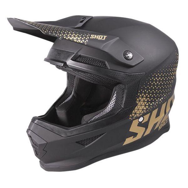 Motocross SHOT Furious Raw Black Gold Matt