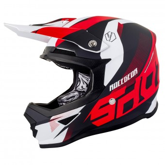 Casque Motocross SHOT Furious Ultimate Matt Red