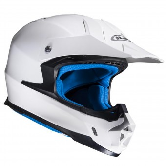 Casque Motocross HJC FX-Cross White