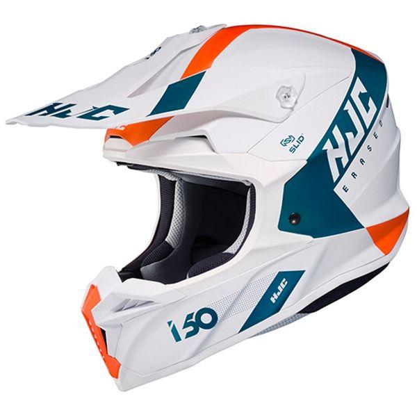 Motocross HJC I50 Erased MC47SF