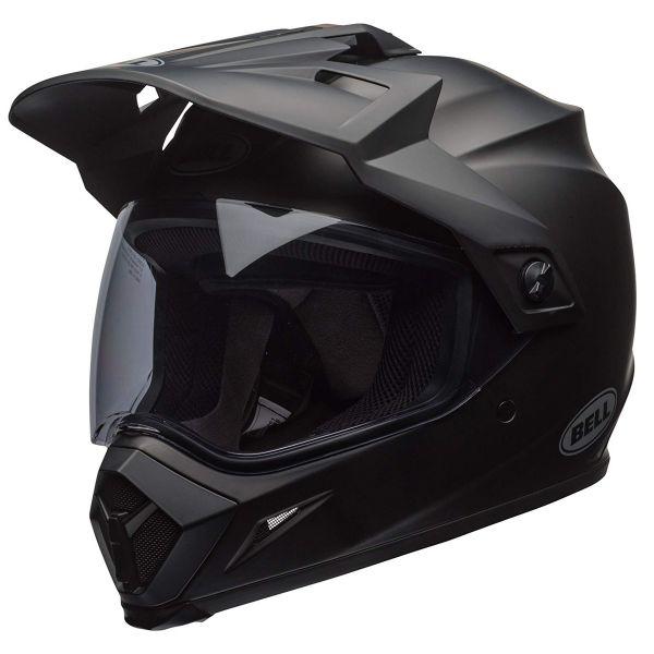 Motocross Bell MX-9 Adventure Mips Solid Matte Black