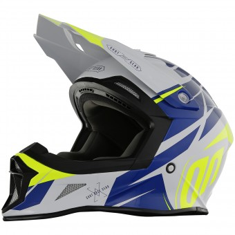 Casque Motocross SHOT Striker Exod Grey Neon Yellow