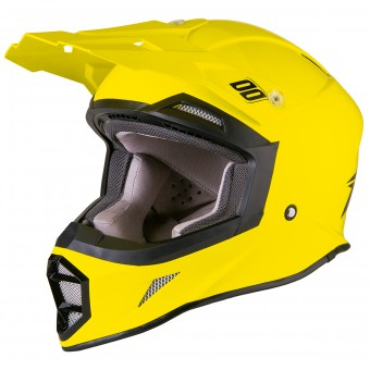 Casque Motocross SHOT Striker Neon Yellow