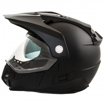 Casque Motocross LEM Trail Black
