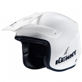 Casque Motocross Kenny Trial Up White Black