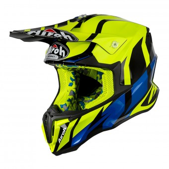 Casque Motocross Airoh Twist Great Yellow