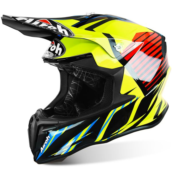 Helmet Airoh Twist Strange Blue At The Best Price Icasquecouk