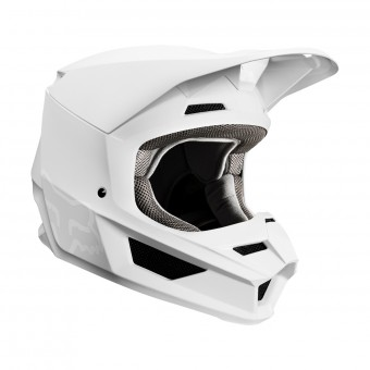 Casque Motocross FOX V1 Matte White