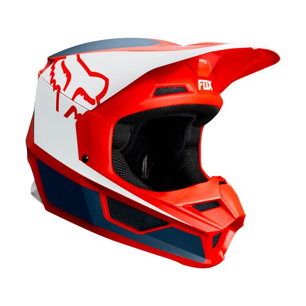 4390ead5 Helmet FOX V1 Przm Navy Red at the best price   iCasque.co.uk