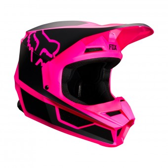 Casque Motocross FOX V1 Przm Black Pink