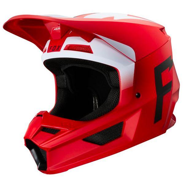 Motocross FOX V1 Werd Flame Red