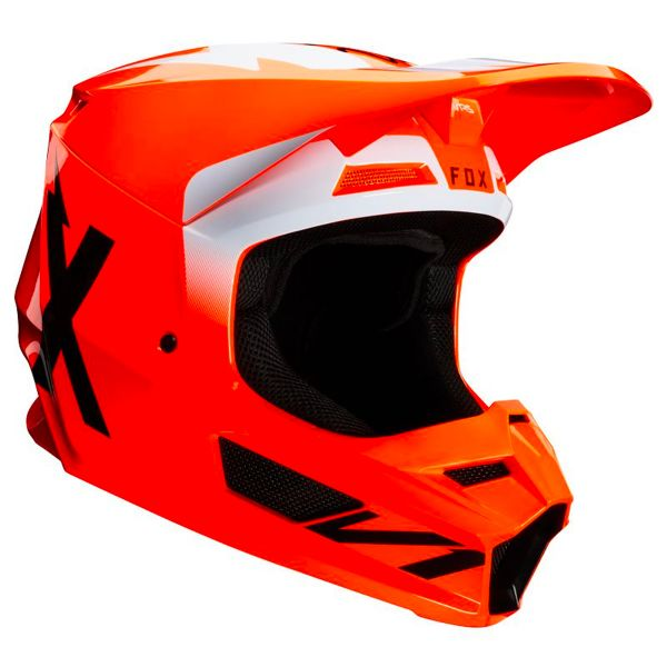 Motocross FOX V1 Werd Fluo Orange