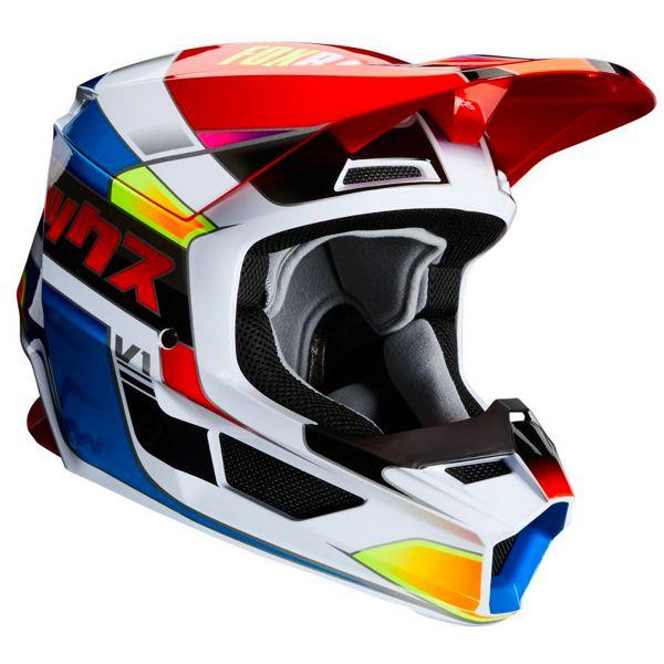 Motocross FOX V1 Yorr Blue Red