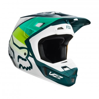 Casque Motocross FOX V2 Murc Green