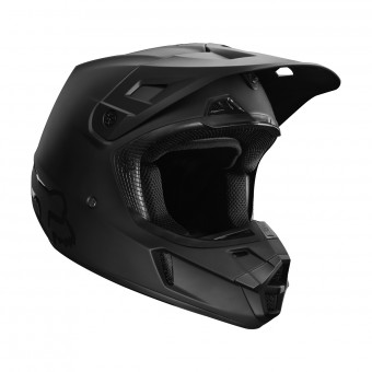 Casque Motocross FOX V2 Matt Black