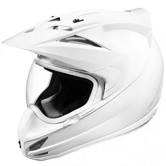 Casque Motocross ICON Variant Solid White