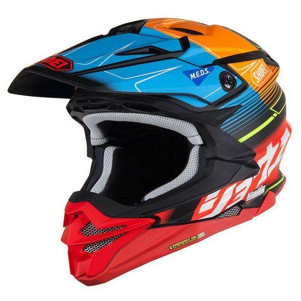 Helmet Shoei Vfx Wr Zinger Tc2 Ready To Ship Icasquecouk