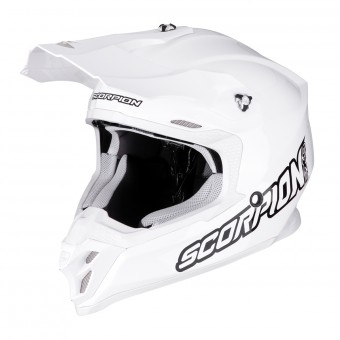 Casque Motocross Scorpion VX-16 Air White