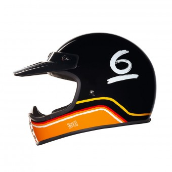 Casque Motocross Nexx X.G200 Flat 6 Black