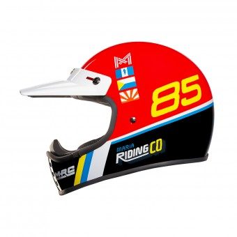 Casque Motocross Nexx XG.200 Maria Dustyfrog Red