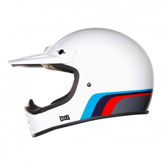 Casque Motocross Nexx X.G200 Rok'On Blue