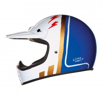 Casque Motocross Nexx X.G200 Superhunky Blue