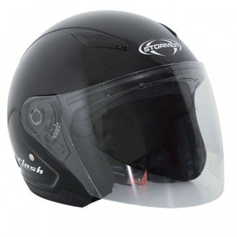 Casque Kids Stormer Flash Kid Black