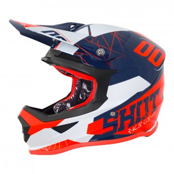 Casque Kids SHOT Furious Spectre Black Orange Kid