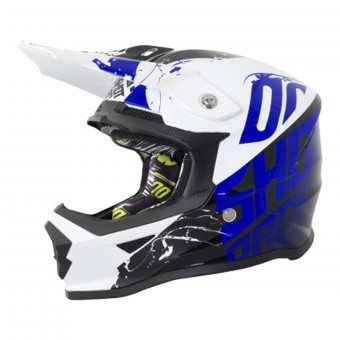 Casque Kids SHOT Furious Venom Black Blue Kid