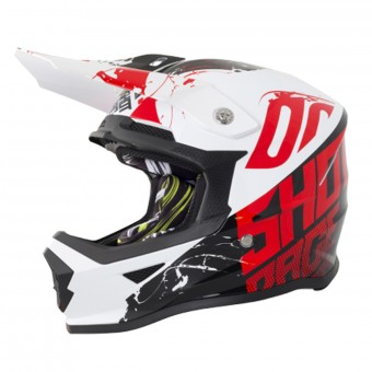 Casque Kids SHOT Furious Venom Black Red Kid