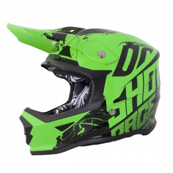 Casque Kids SHOT Furious Venom Neon Green Kid