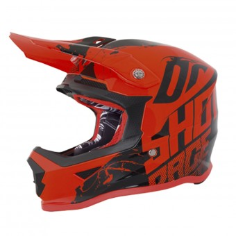 Casque Kids SHOT Furious Venom Neon Orange Kid