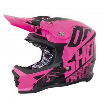 Casque Kids SHOT Furious Venom Neon Pink Kid