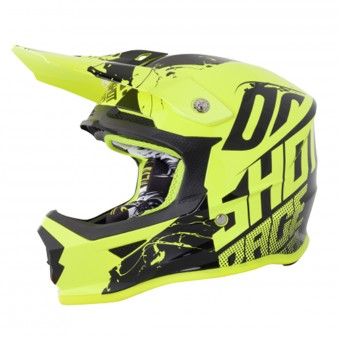 Casque Kids SHOT Furious Venom Neon Yellow Kid
