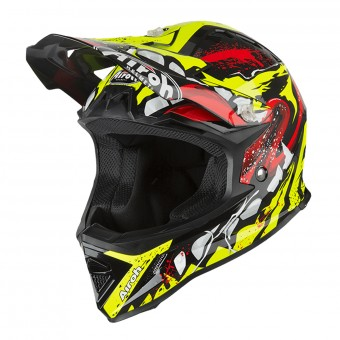 Casque Kids Airoh Archer Grim Black Yellow