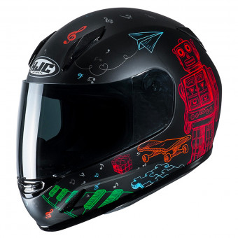 Casque Kids HJC CLY Wazo MC1SF