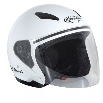 Casque Kids Stormer Flash Kid White