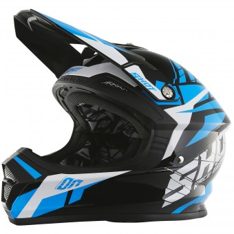Casque Kids SHOT Furious Squad Blue Kid