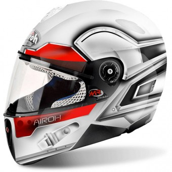 Casque Kids Airoh Mr Strada Lunar White