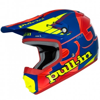 Casque Kids pull-in Pull-in Blue Neon Orange Yellow Kid