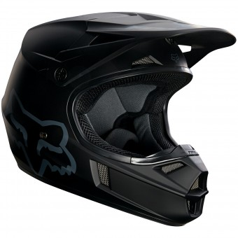 Casque Kids FOX V1 Matte Black Child 255