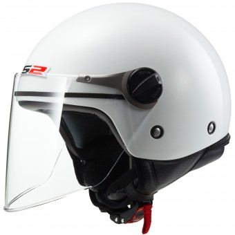 Casque Kids LS2 Wuby White OF575J