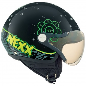 Casque Kids Nexx X60 Kids Goomy Black Green