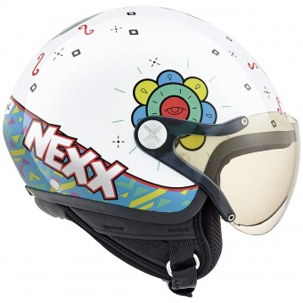 Casque Kids Nexx X60 Kids Goomy White