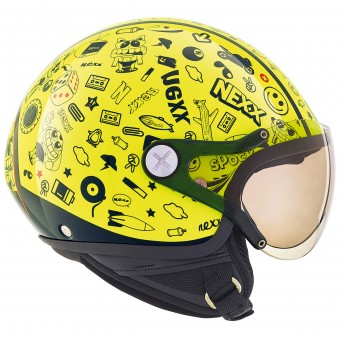 Casque Kids Nexx X60 Kids Spock Neon Yellow