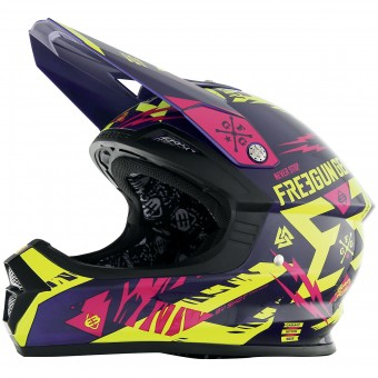 Casque Kids Freegun XP-4 Trooper Neon Yellow Magenta Enfant
