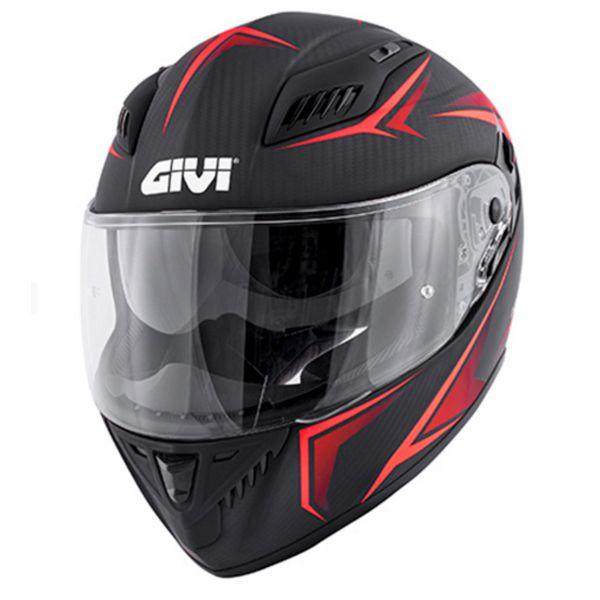 Full Face Givi 40.5 X-Carbon Matt Red