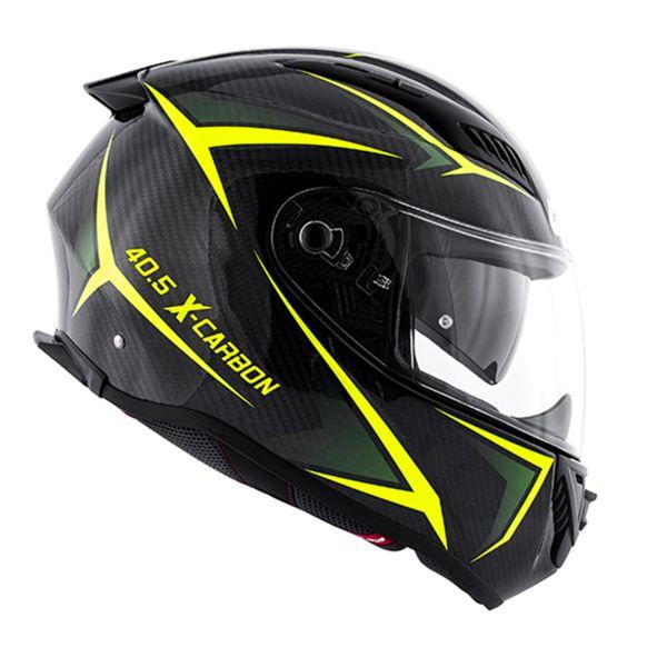 Full Face Givi 40.5 X-Carbon Neon Yellow